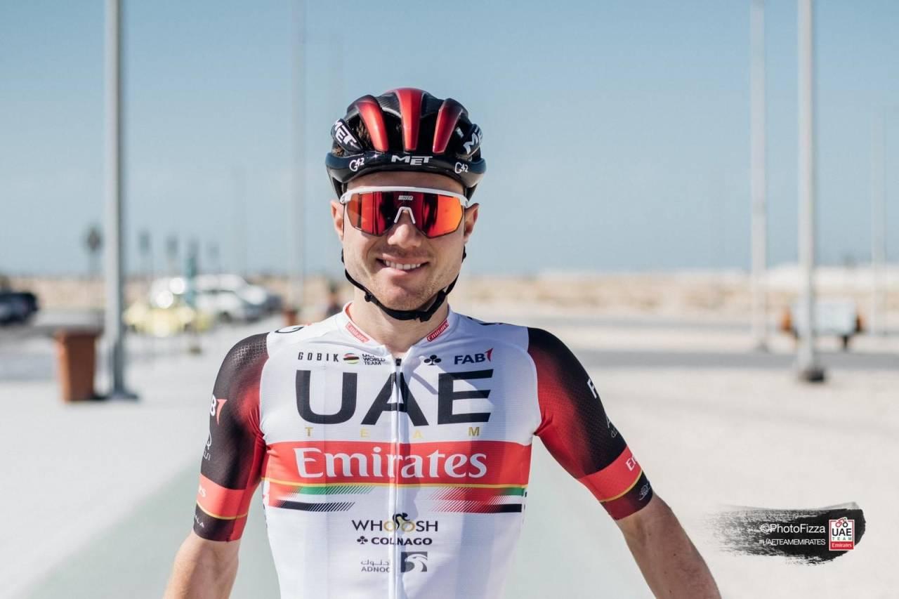 KLAR FOR UAE: Marc Hirschi. FOTO: PhotoFizza/UAE Team Emirates