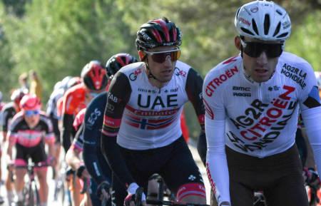 STERK: Sven Erik Bystrøm gjorde det god i bakkeavslutningen på den andre etappen av Tour de la Provence. Foto: Cor Vos