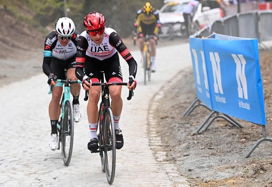 VISTE STYRKE: Sven Erik Bystrøm imponerte i bakkeavslutning i Vuelta a Andalucia. Her fra Brabantse Pijl i april. Foto: Cor Vos