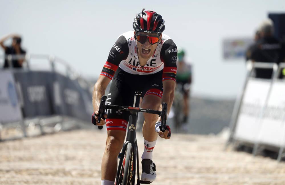 IMPONERTE IGJEN: I en tøff avslutning i Vuelta a Andalucia ble Sven Erik Bystrøm nummer tre. Nå sendes han til Critérium du Dauphiné. Foto: Cor Vos