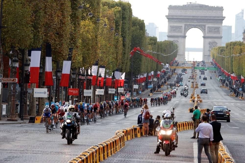 SENDES: Tour de France er naturligvis på sendeplanen til Eurosport i 2021. Foto: Cor Vos