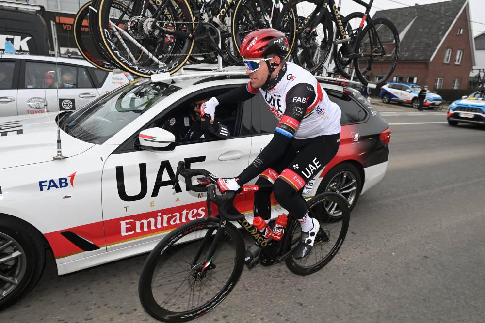 UHELL: Alexander Kristoff fikk aldri sjansen til å spurte om seieren i Omloop Het Nieuwsblad. Foto: Cor Vos