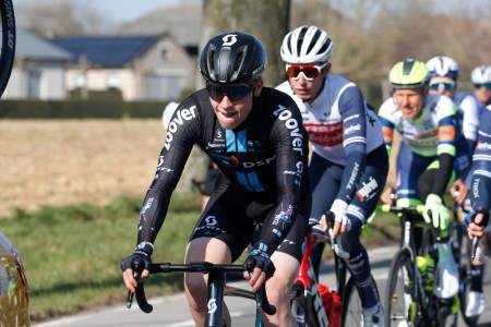 MER BROSTEIN: Andreas Leknessund fikk testet seg i Kuurne-Brussels-Kuurne. Nå blir det mer belgisk brostein på ham fremover. Foto: Cor Vos