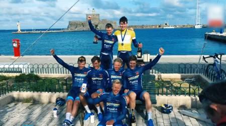 PANGSTART: Søren Wærenskjold fikk en pangstart på sesongen med seier i Tour of Rhodes.