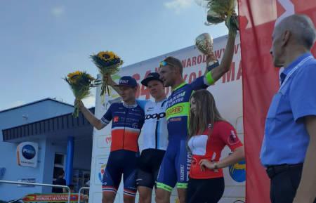 NY SEIER: Tord Gudmestad tok sin andre etappeseier på rad i Dookola Mazowsza. Foto: Team Coop