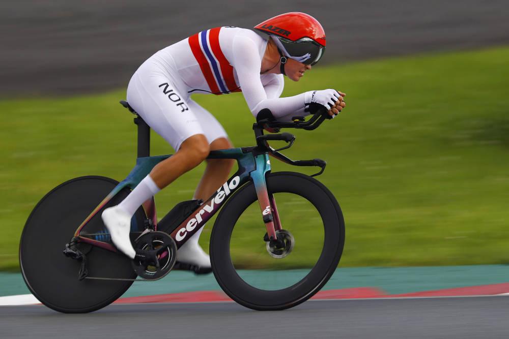 INGEN OL-JUBEL: Tobias Foss fikk det tøft også på tempoen i OL. Foto: Cor Vos