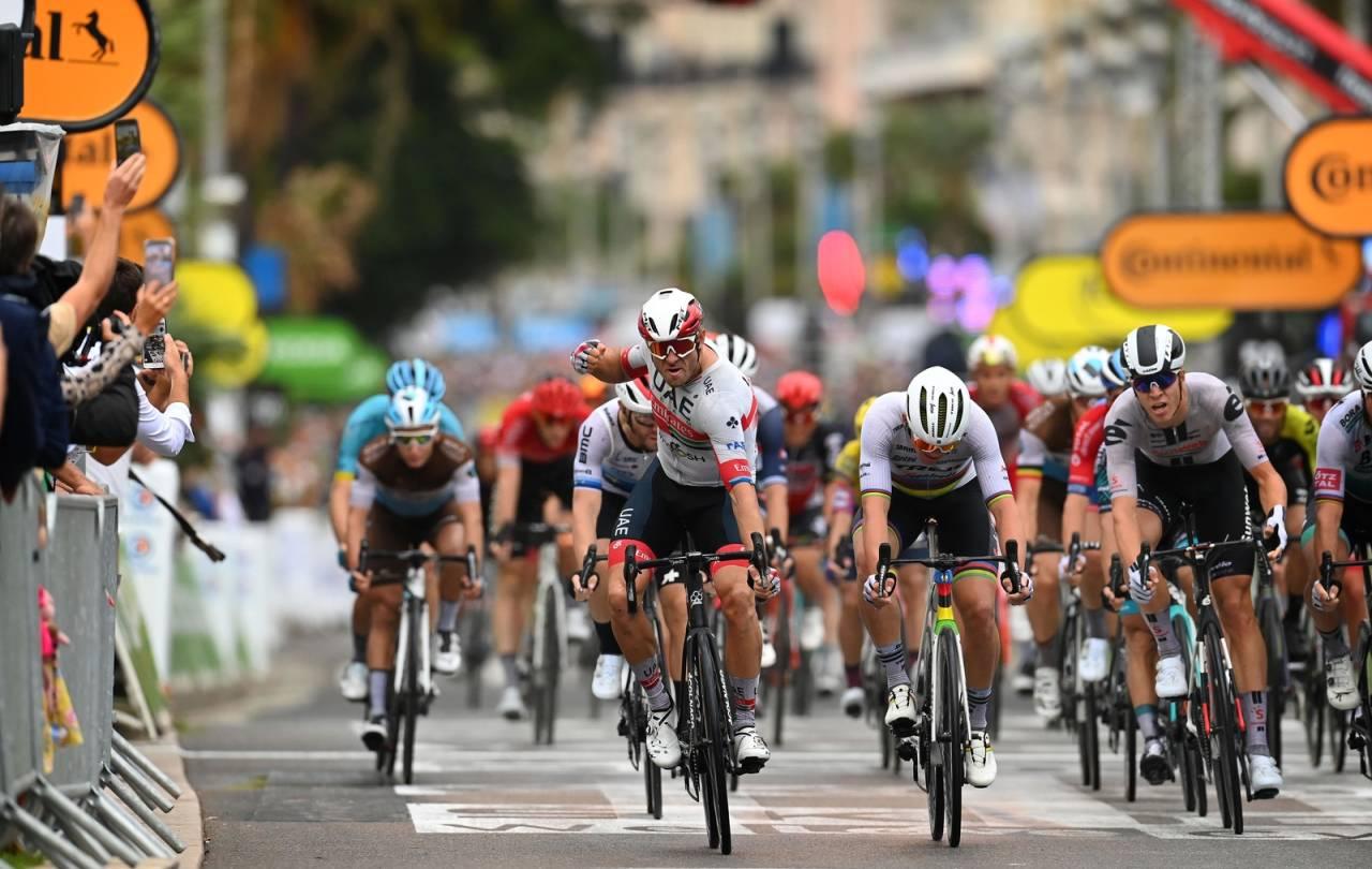alexander kristoff vant første etappe i tour de france 2020 gul trøye
