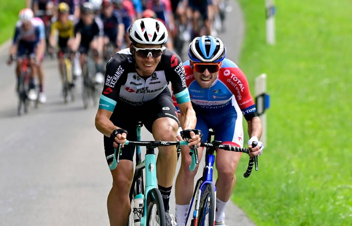 STARTER ETAPPE TO: Amund Grøndahl Jansen fortsetter Tour de France. Foto: Cor Vos