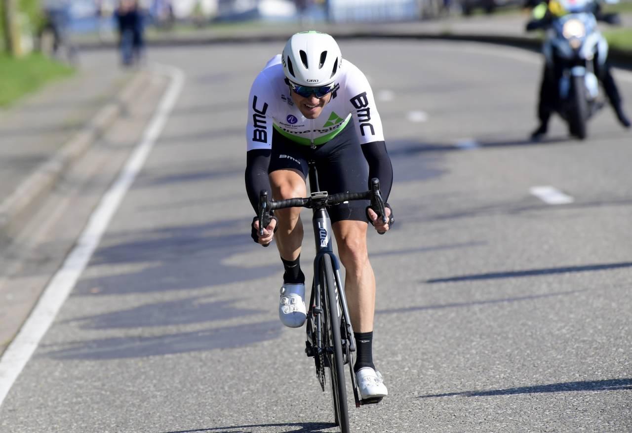 PRØVDE LYKKEN: Men det holdt dessverre ikke helt inn for Edvald Boasson Hagen på dagens etappe. Foto: Cor Vos.
