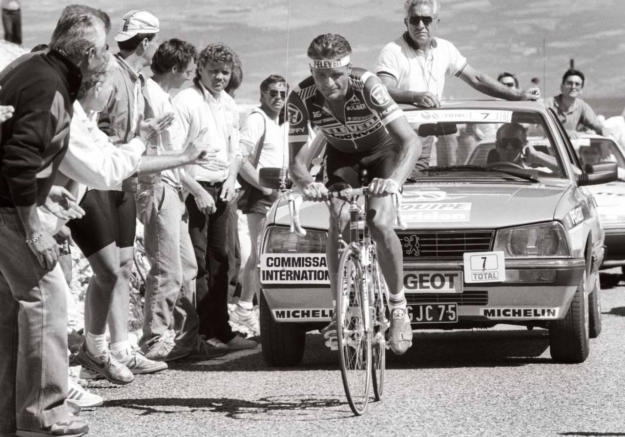 KJEKKAS: Dag Otto Lauritzen var høyt og lavt under Tour de France 1987. At han plutselig var ute av sammendraget, gav ham muligheten til å vinne en etappeseier senere. FOTO: Cor Vos.