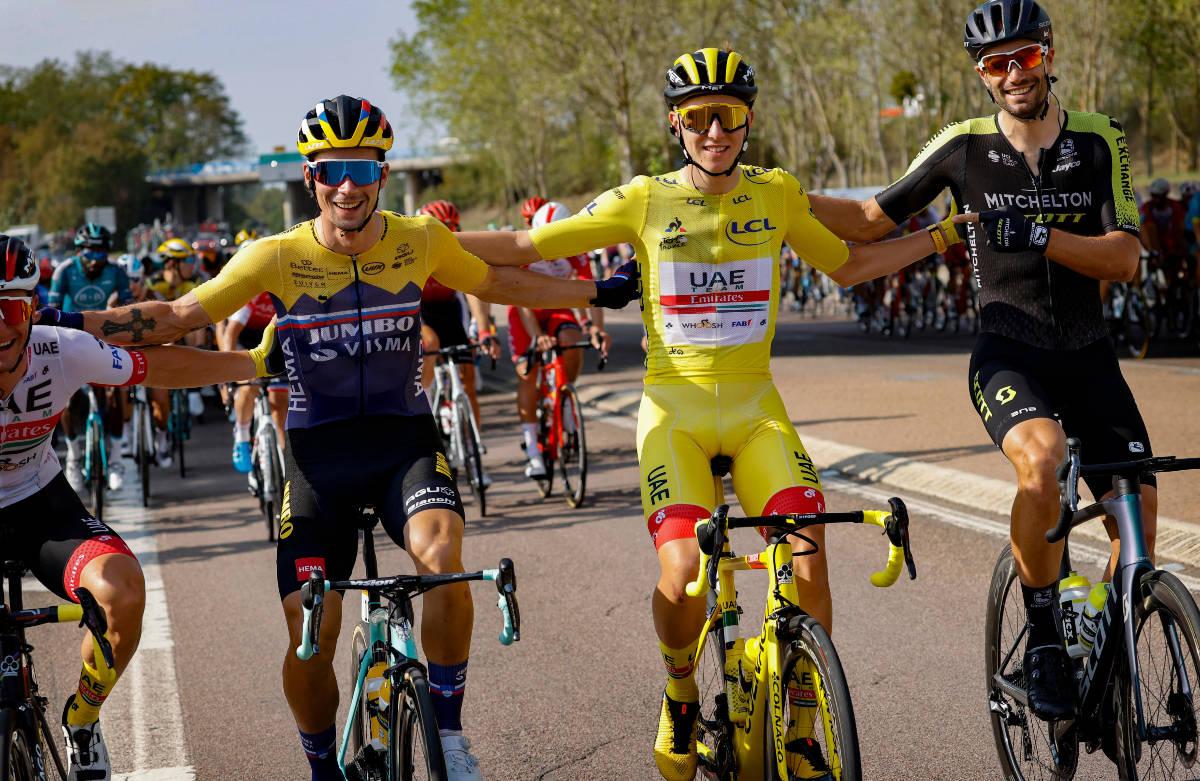 SLOVENSK REVOLUSJON: Primoz Roglic og Tadej Pogacar er to av verdens beste sykkelryttere i øyeblikket, og de to store favorittene til Tour de France. Foto: Cor Vos