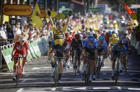 Tour de France, Wout van Aert, Edvald Boasson Hagen.