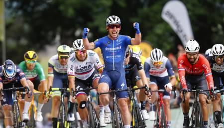 ETAPPESEIER: Mark Cavendish er tilbake i Tour de France med etappeseier. Foto: Cor Vos