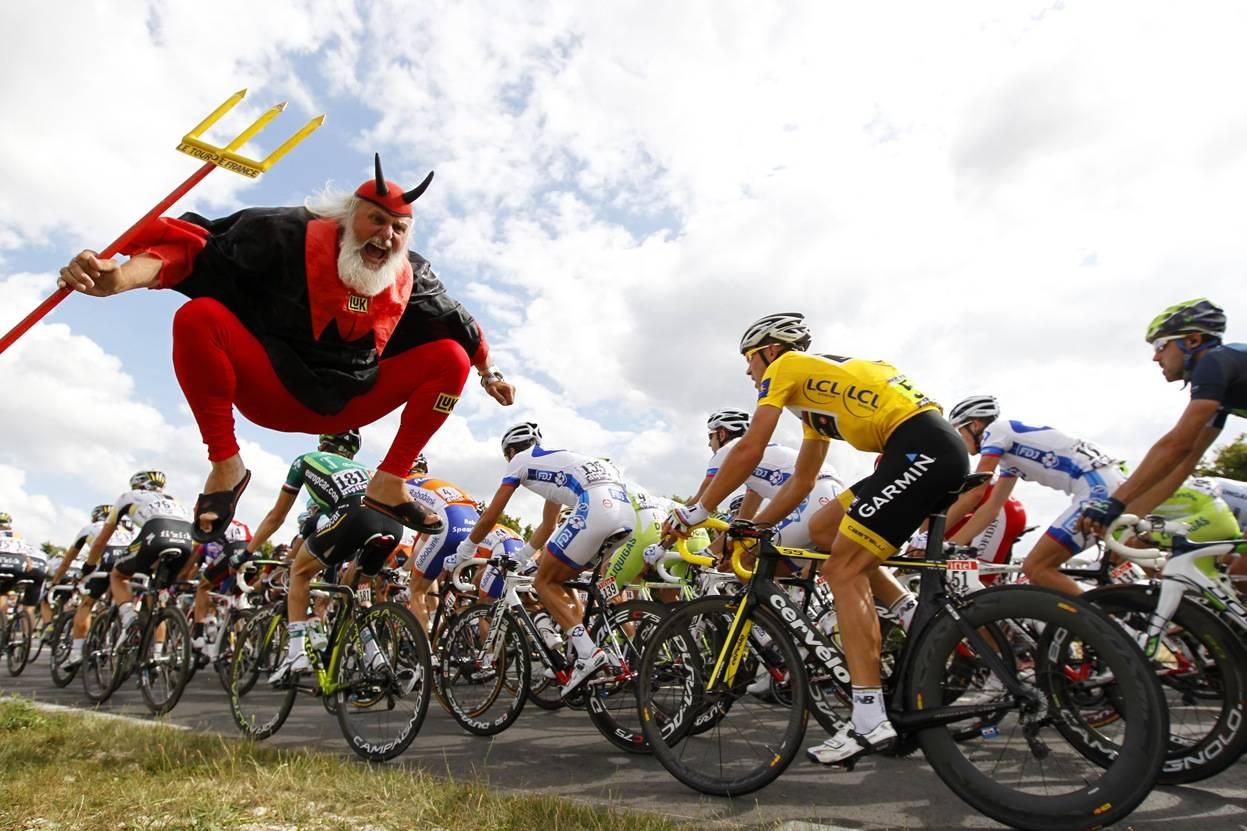 ENDELIG: I morgen starter endelig Tour de France! Velkommen til La Grande Boucle. Foto: Cor Vos.