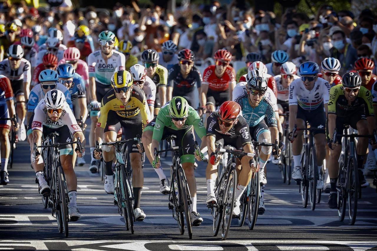 NY REKORD: Peter Sagan har nå 23 andreplasser i Tour de France. Den rekorden kan han takke Caleb Ewan for. Foto: Cor Vos.