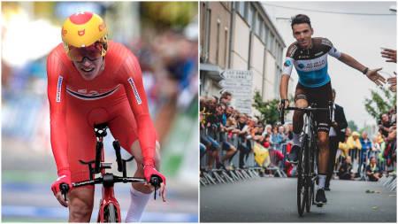 Andreas leknessund sykler sammen med Romain Bardet