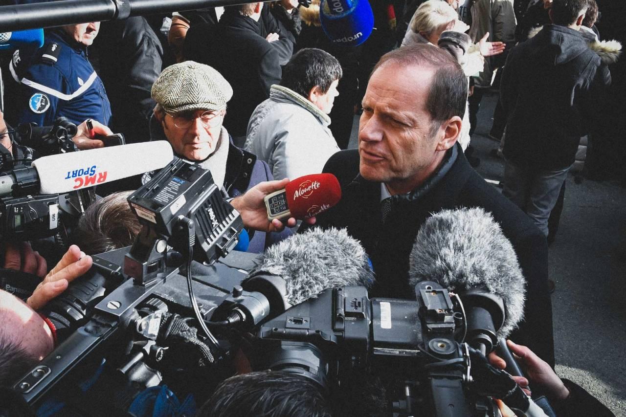 UTESTENGT: Sjef for Tour de France, Christian Prudhomme, har avlagt en positiv koronatest. Nå er han i karantene i syv dager. Foto: Cor Vos.