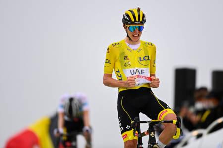 Tadej Pogacar vant den 17. etappen i Tour de France 2021