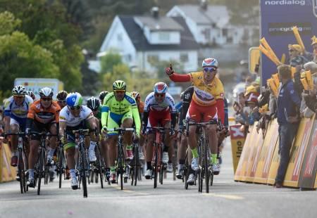 UTFORDRENDE: Dagens etappe i Tour of Norway blir en tøff affære. Foto: Espen Espevalen.