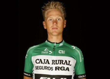 DOPINGDØMT: Erlend Sør-Reime har vært utestengt for doping i tre år, men ingen vet for hva. FOTO: Caja Rural-Seguros RGA