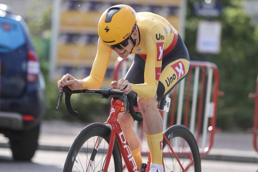 ÅRETS FØRSTE FOR UNO-X: Idar Andersen vant prologen i Tour de la Mirabelle torsdag. Foto: Mario Stiehl