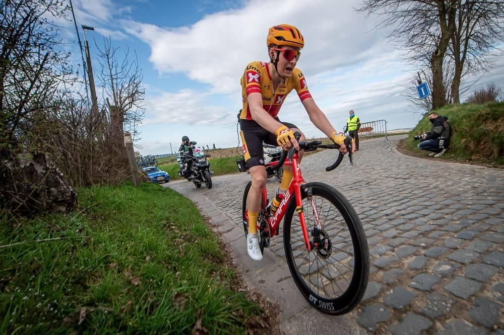 PÅ VEI BORT?: Markus Hoelgaard er ryktet bort fra Uno-X etter årets sesong. Foto: Mario Stiehl
