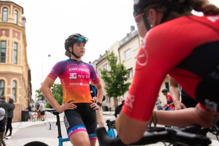 KLAR FOR UNO-X: Mie Bjørndal Ottestad er den første norske rytteren som er klar for Uno-X Pro Cycling. Foto: Henrik Alpers
