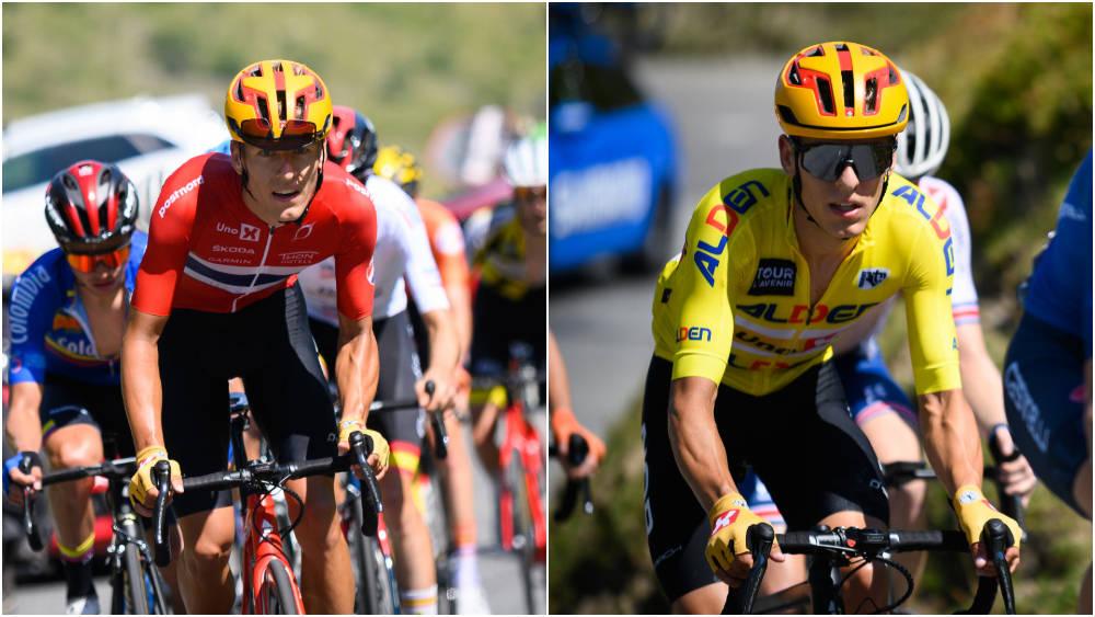 TVILLINGER: Anders og Tobias Halland Johannessen har herjet i Tour de l'Avenir. Foto: Anouk Flesch/Tour de l'Avenir