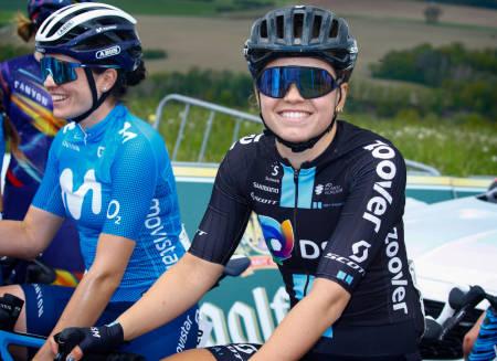 BLIR UNO-X-RYTTER: Susanne Andersen har signert for Uno-X Pro Cycling. Foto: Cor Vos