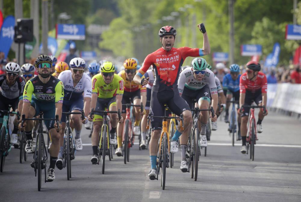 NÅDDE IKKE HELT OPP: Phil Bauhaus var raskest i Tour de Hongrie, hvor Uno-X ikke helt klarte å utfordre om etappeseieren. Foto: Cor Vos