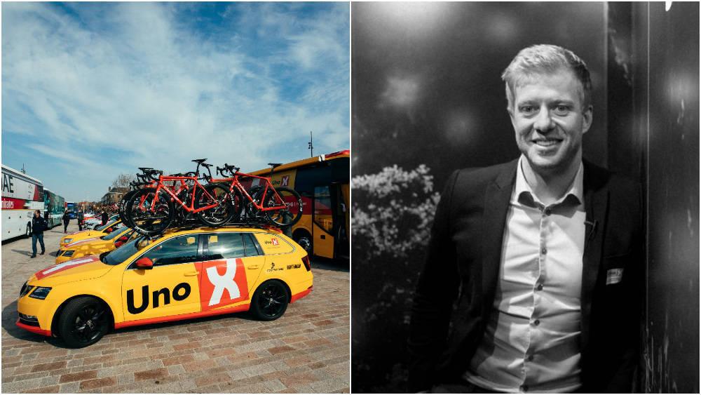 SINT OG SKUFFET: Sykkelsjef i Uno-X, Jens Haugland, retter kraftig skyts mot idrettsminister Abid Raja. Foto: WordUp Projects/Henrik Alpers