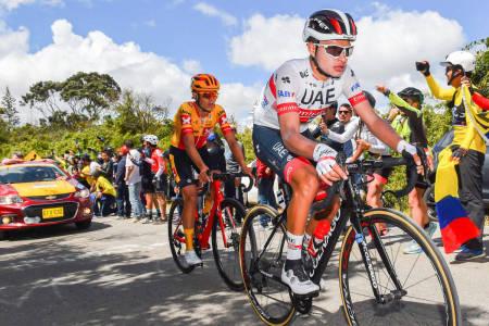 TØFF MOTSTAND: Torstein Træen overbeviste i Tour Colombia 2.1 i fjor, men møter et tøffere startfelt i Tour of the Alps. Hva kan Uno-X-klatreren få til? Foto: Cor Vos