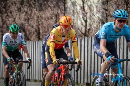 KLATRET GODT: Tobias Johannessen viste seg frem i Tour of the Alps. Foto: Cycling Photography Live