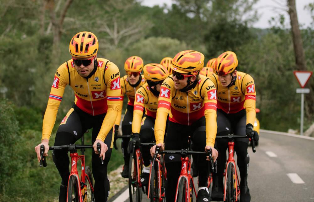 GIRO-NEI: Uno-X søkte om å få wildcard i Giro d'Italia, men fikk nei. Foto: Wordup Projects