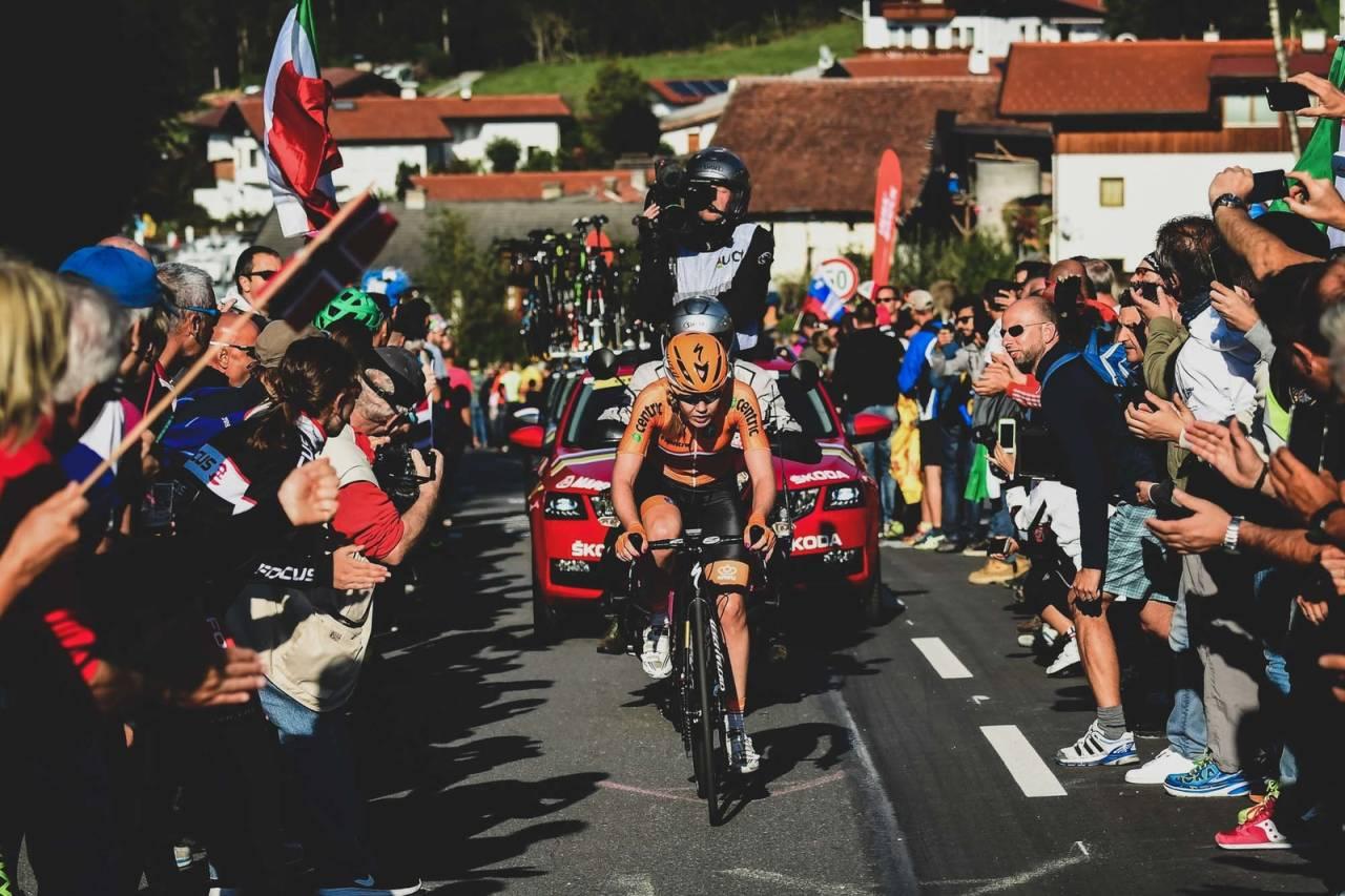 Anna van der Breggen proffsyklist