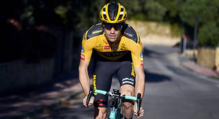 DROPPER VM: Tom Dumoulin er en av favorittene som dropper årets tempo-VM. Foto: Cor Vos.