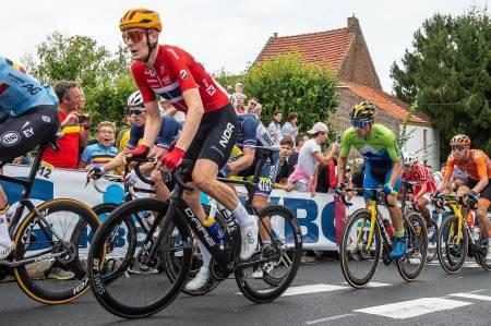 TOPPLASSERING: Markus Hoelgaard leverte et glitrende VM-ritt i Flandern. Foto: Mario Stiehl
