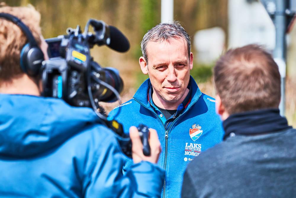 SJEFEN: Kai Lexberg er mannen bak det norske juniorlandslaget, som tok gull i VM i Flandern fredag. Foto: Håkon Mæland / MLandPictures