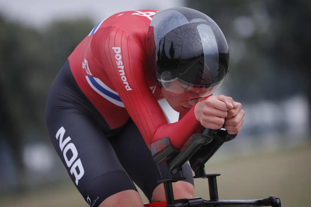 MEDALJEN GLAPP: Søren Wærenskjold var svært nær sølv i VM, men i stedet glapp medaljen akkurat. Foto: Cor Vos