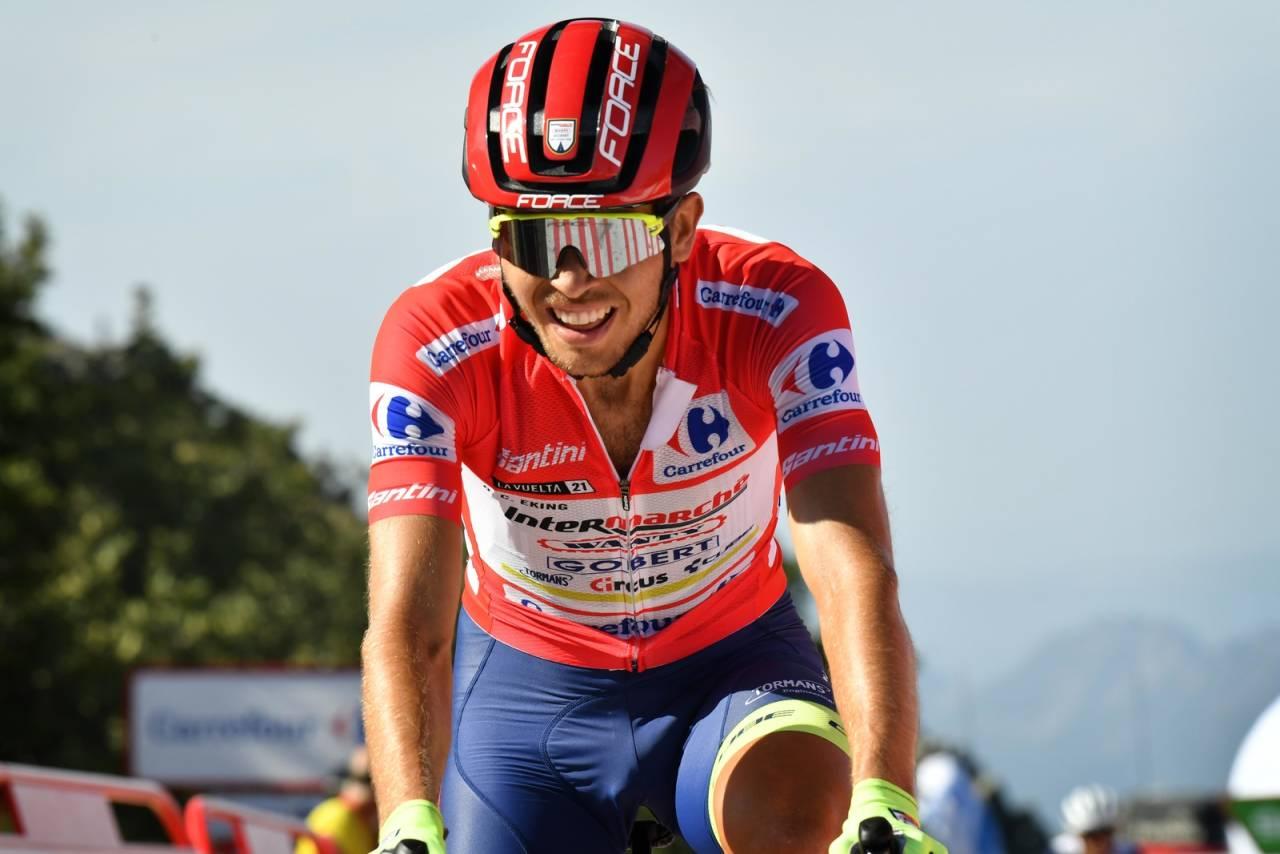LEDER: Odd Christian Eiking er i ferd med å gjøre et sensasjonelt Vuelta a España. Foto: Cor Vos