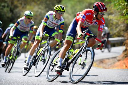 NY DAG I RØDT: Odd Christian Eiking fortsetter å lede Vuelta a España. Foto: Cor Vos