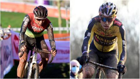 INNFRIDDE FORVENTNINGENE: Både Sanne Cant og Wout van Aert gjorde som forventet, de vant det belgiske sykkelkrossmesterskapet. FOTO: Cor Vos