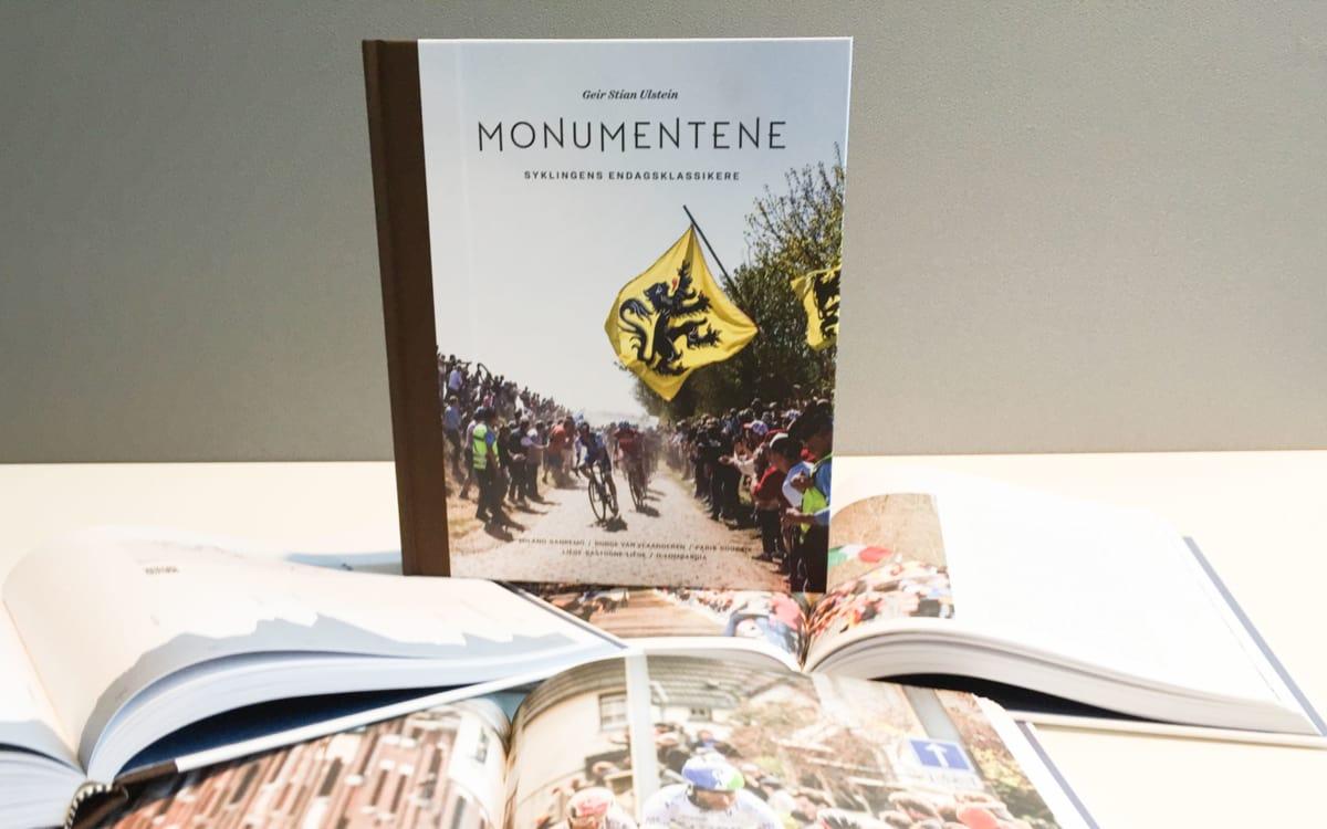 FORFATTERPRAT: Mannen bak Monumentene, Geir Stian Ulstein, er i dag i studio! Foto: Henrik Alpers