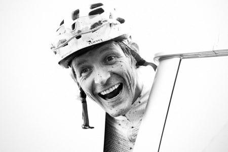 GLAD MANN: Møt Øyvind Aas, mannen som startet bladet Landevei! Foto: Kristoffer Kippernes.