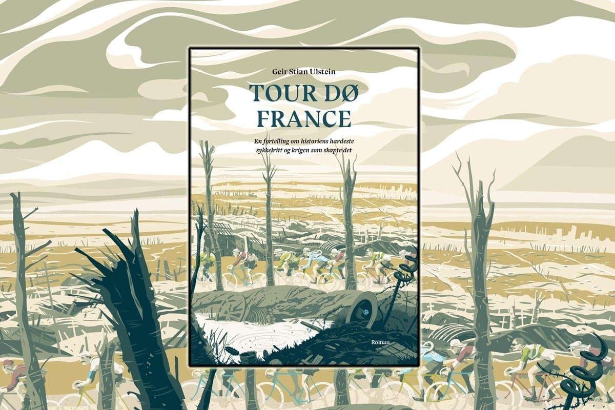 SOMMERLESING: Tour de France var mildest talt annerledes i 1919. I dagens sending får du vite mer om hvordan det var i det herrens etterkrigsår. Illustrasjon: Simon Scarsbrook.