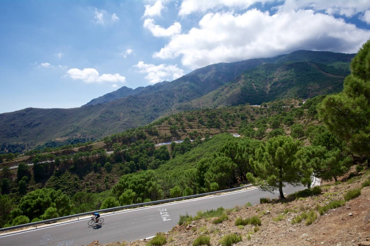 TØFF AVSLUTNING: Alto de Penas Blancas viste seg å være tøffere enn forventet.