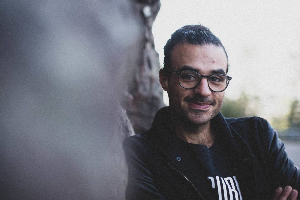 MEST I VERDEN? Amir Goreshis klatring i Grefsenkollen er trolig mest i verden i august. Foto: Henrik Alpers.