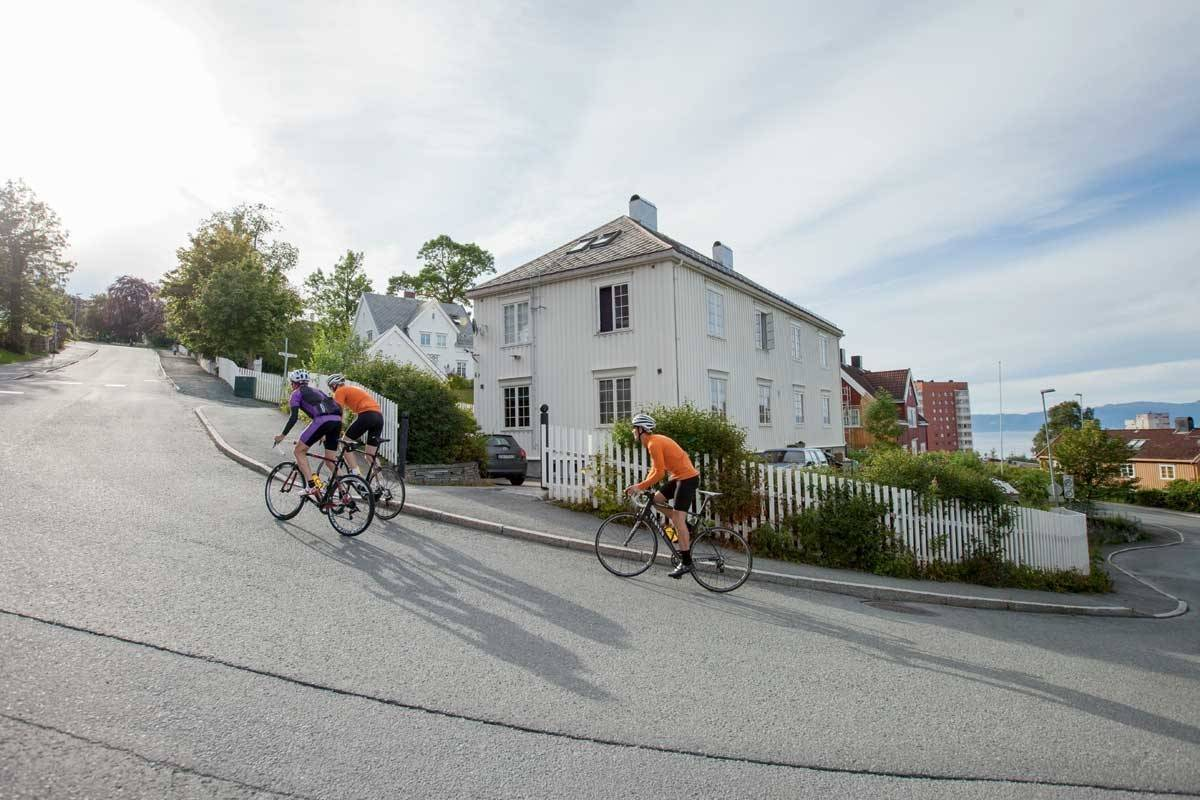 sykkelturer Trondheim bakker ila skistua steinberget
