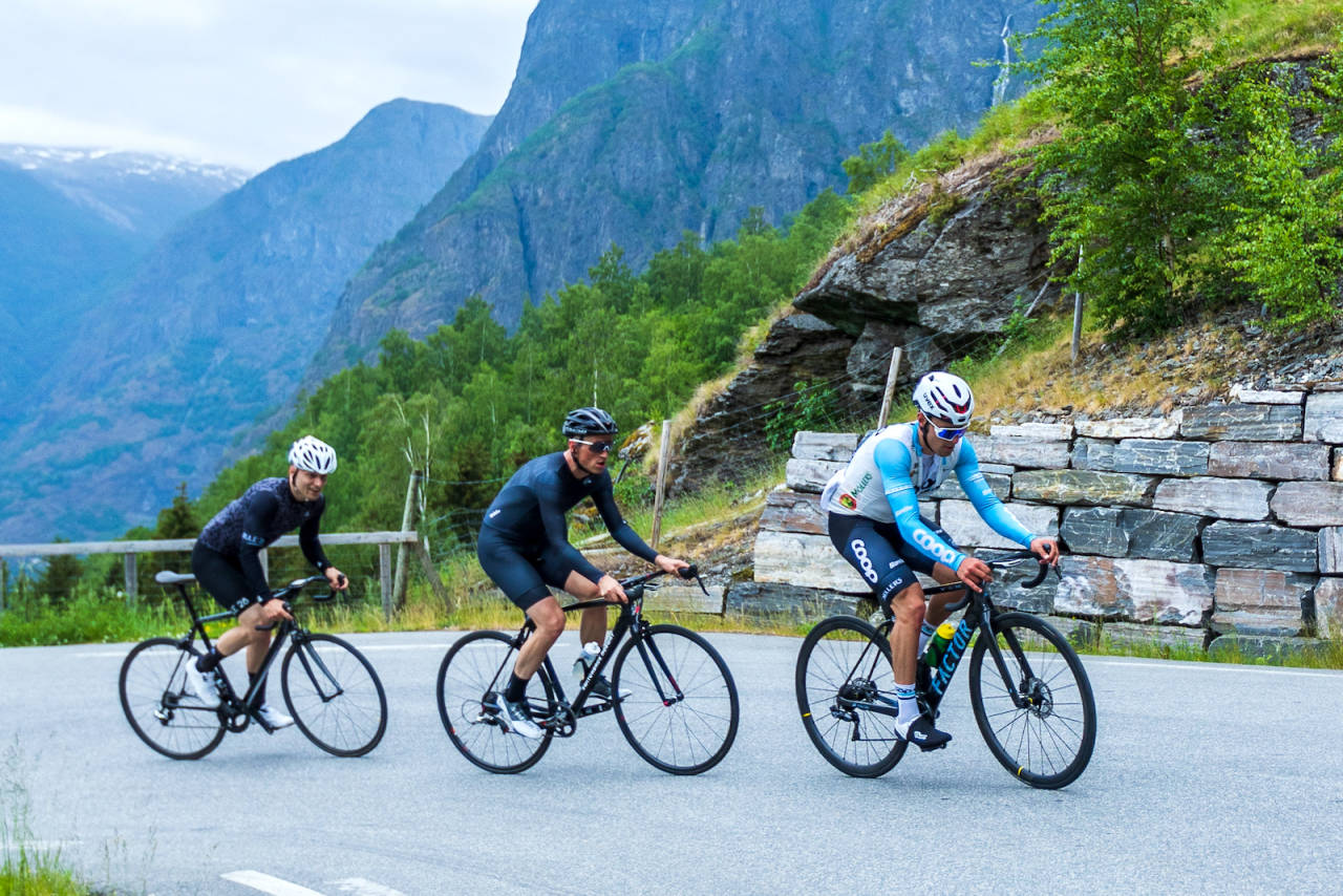 Alex Krill, Terje Selle Rundberg, Fredrik Dversnes Aurlandsfjellet 2021