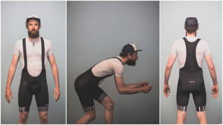 TEKNISK AVANSERT: Gore Opti C5+ er testens mest avanserte bukse. Foto: Kristoffer Kippernes.